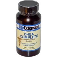 LifeExtension DHEA complete vegetarian capsules - 60 ea