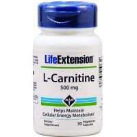 LifeExtension L Carnitine 500 mg veg capsules - 30 ea