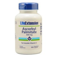 LifeExtension ascorbyl palmitate 500 mg veg capsules - 100 ea