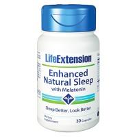 LifeExtension Enhanced Natural Sleep with Melatonin capsules - 30 ea