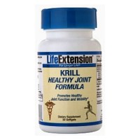 LifeExtension Krill Healthy Joint formula, softgels - 30 ea