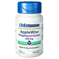 LifeExtension Applewise Polyphenol extract 600 mg, Veg caps - 30 ea