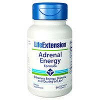 LifeExtension Adrenal Energy formula, veg capsules - 60 ea
