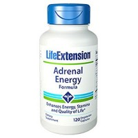 LifeExtension Adrenal Energy formula, veg capsules - 120 ea