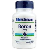 LifeExtension Boron 3 mg complex, veg caps - 100 ea