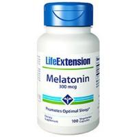 LifeExtension Melatonin 300 mcg, veg capsules - 100 ea