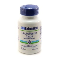 LifeExtension Lactoferrin supports immune system capsules - 60 ea