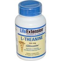 LifeExtension L Theanine 100 mg veg capsules - 60 ea