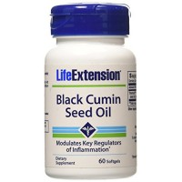 LifeExtension Black Cumin Seed Oil, softgels - 60 ea