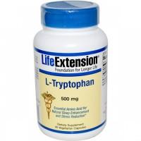 LifeExtension L tryptophan 500 mg veg capsules - 90 ea