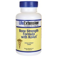 LifeExtension bone strength formula with KoAct capsules - 120 ea