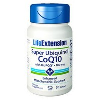 LifeExtension Super Ubiquinol CoQ10 100 mg softgels - 30 ea