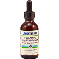 LifeExtension Liquid Melatonin promotes optimal sleep - 2 oz