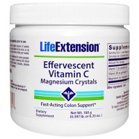 LifeExtension Effervescent vitamin C Magnesium crystals - 6.35 oz