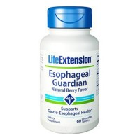 LifeExtension Esophageal Guardian Chewable tablets, Berry flavour - 60 ea