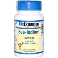 LifeExtension Sea Iodine 1000 mcg veg capsules - 60 ea