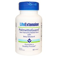 LifeExtension PalmettoGuard saw palmetto with beta sitosterol softgels - 60 ea