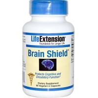 LifeExtension Brain shield vegetarian capsules - 60 ea