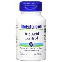 LifeExtension Uric acid control vegetarian capsules - 60 ea