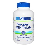 LifeExtension European milk thistle softgels - 120 ea