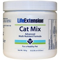 LifeExtension Cat mix advanced multi-nutrient formula - 3.52 oz