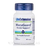 LifeExtension MacuGuard ocular support softgels - 60 ea
