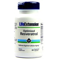 LifeExtension optimized Reservatrol against aging, veg caps - 60 ea
