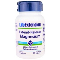 LifeExtension Extend Release Magnesium, veg caps - 60 ea