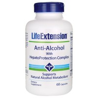 LifeExtension Anti alcohol with hepato protection complex capsules - 60 ea