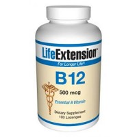 LifeExtension B 12 500 mcg - 100 ea