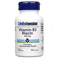 LifeExtension vitamin B 3 Niacin 500 mcg - 100 ea