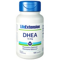 LifeExtension DHEA 15 mg capsules - 100 ea