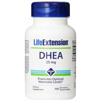 LifeExtension DHEA 25 mg tablets - 100 ea