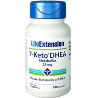 LifeExtension 7 Keto DHEA metabolite 25 mg capsules - 100 ea
