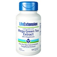 LifeExtension mega Green tea extract vegetarian capsules - 100 ea