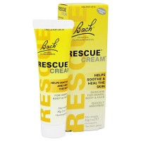 Bach Original flower essences rescue cream to soothes and heal the skin, 1 oz