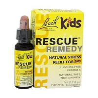Bach original Flower Remedies rescue remedy natural kids stress relief, 10 ml
