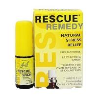 Bach original Flower Remedies rescue remedy spray, natural stress relief, 7 ml