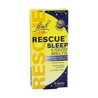 Bach original flower remedies rescue sleep liquid melts, Natural slep aid, 28 capsules