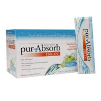 Spatone pur-absorb iron packets 28 pack apple - 0.85 oz
