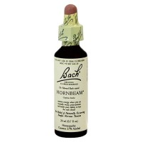 Bach original flower essences for nervous tension, Hornbeam 0.7 oz