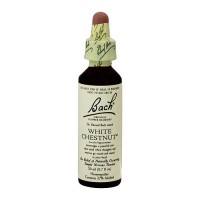 Bach original flower essences for naturally occurring nervous tension, White Chestnut, 20 ml