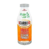 Herbal Clean QCarbo detox solution Maximum Strength, Orange, 16 oz