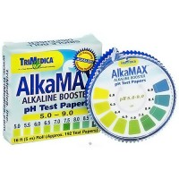 TriMedica AlkaMax Alkaline Booster pH Test Papers, 15 Ft. Roll - 1 ea