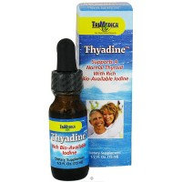 TriMedica Thyadine With Rich Bio-Available Colloidal Iodine - 0.5 oz