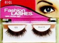 Ardell fashion lashes style 105, black - 4 pair