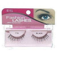 Ardell fashion lashes strip lashes, #116 black - 4 ea