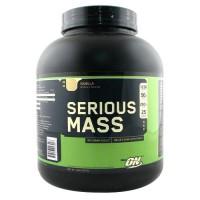 Optimum nutrition serious mass 1250 calories weight gain supplement, vanilla - 6 lbs
