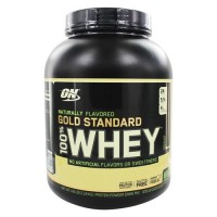 Optimum nutrition - 100% whey gold standard natural protein chocolate - 4.8 lbs