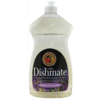Earth friendly dishmate ultra liquid dishwashing cleaner, natural lavender - 25 oz, 6 pack